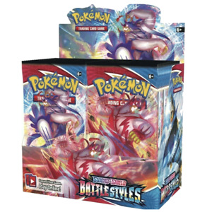 Battle Styles Booster Box 36 ct Sword & Shield Pokemon TCG NEW SEALED SHIPS 3/19