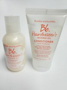 Bumble-And-Bumble-Hairdresser-039-s-Invisible-Oil-Conditioner-amp-Shampoo-2-Oz-Travel