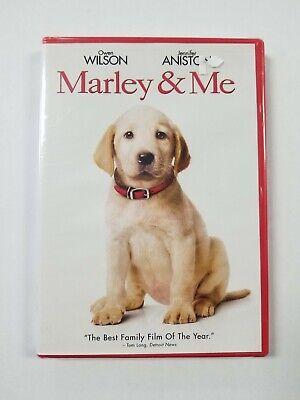 Marley Me 2008 Pg Puppy Movie Brand New Dvd Owen Wilson Jennifer Aniston Ebay