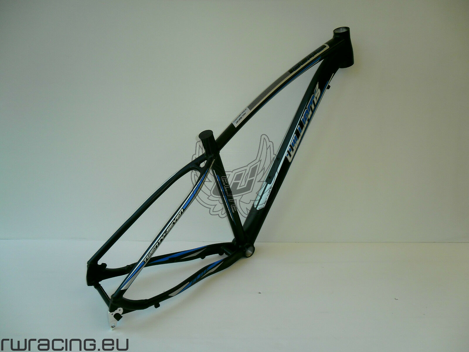 Telaio mtb 29 per bici   xc   crosscountry in alluminio Williams negro   azul