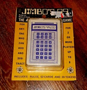 Image Is Loading Vintage 1976 Jimbo 039 S 99 Card Game