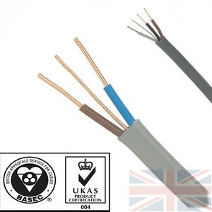 Twin-and-Earth-3-Core-and-Earth-Quality-Electrical-Cable-Wire-6243-6242Y