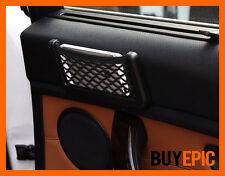 Universal Smartphone Ablagefach, Handy Halterung, Tasche mit Netz schwarz,Tuning