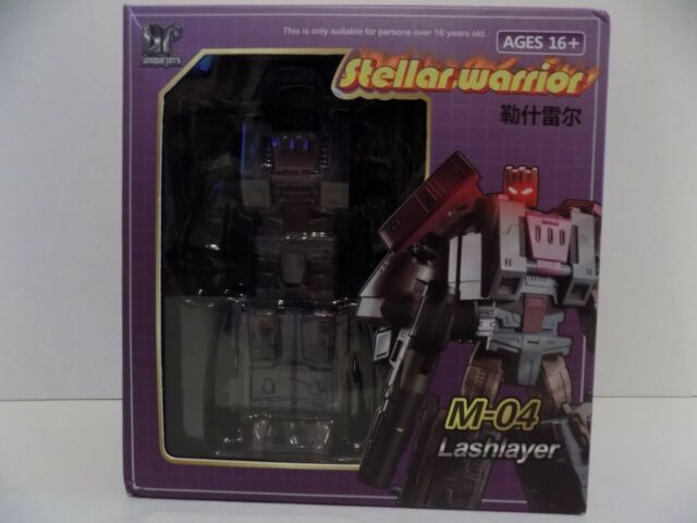 Transformers Unique Toys M-04 Lashlayer blastoff in Stock MISB