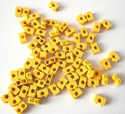 Fornito Lego 70x Technic Brick 1x2 Misti Giallo Lotto Set Kg Sped Gratis Su + Acquisti Prezzo Basso