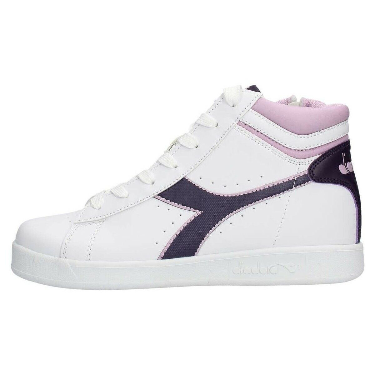 shoes DIADORA BAMBINA RAGAZZA GAME P HIGH GS 101.173762 01 C7630 BIANCO pink