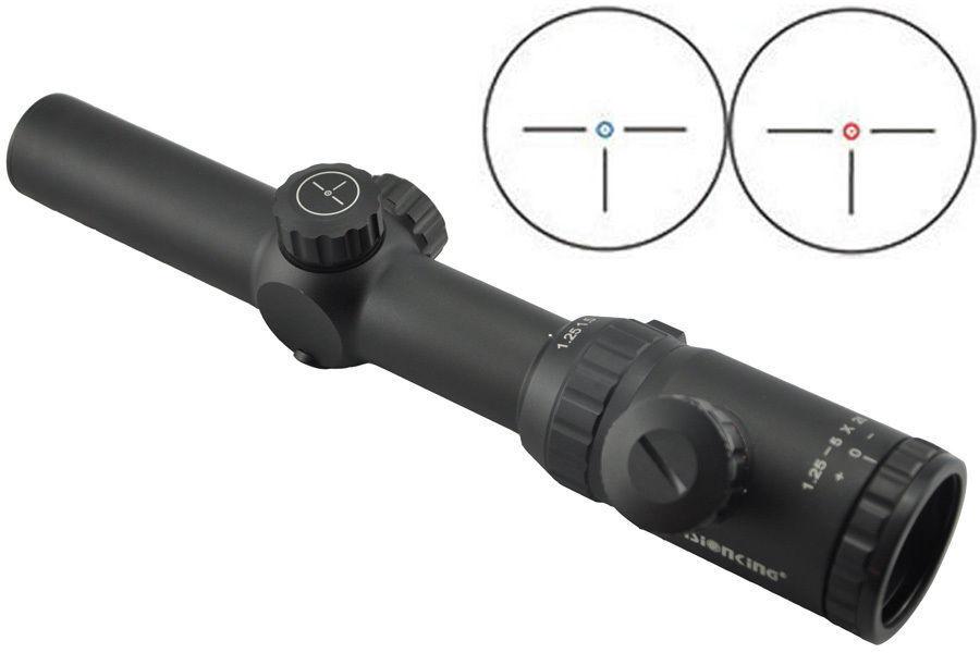 Visionking 1.25-5x26 rifle caza visores infrarrojos para un caza R. 223 556