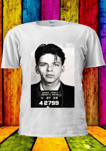 Frank Sinatra MUG SHOT Fashion Swag T-shirt Vest Tank Top Men Women Unisex 2114