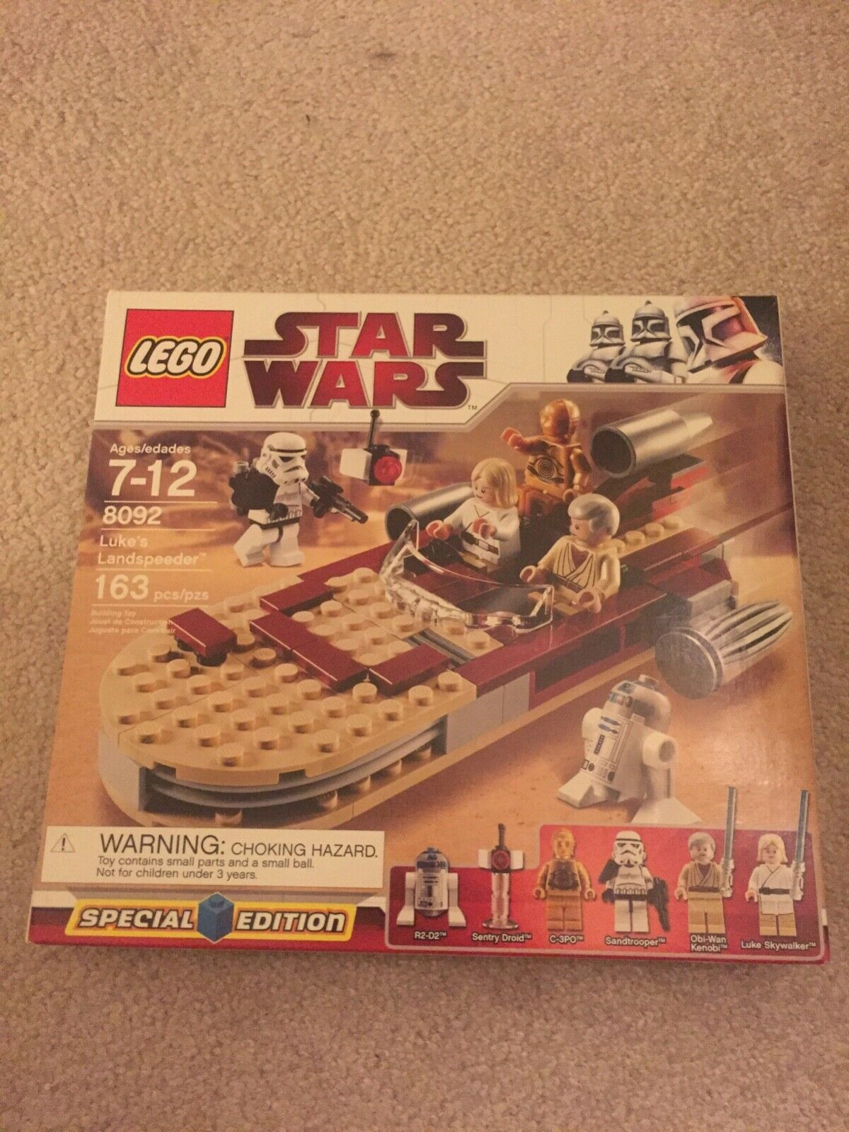 LEGO Star Wars 8092 special edition Luke's Landspeeder. NEW. Factory sealed.