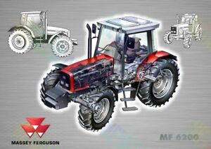 - 3 For 2 Offer a3 Poster Massey Ferguson 135 Tractor Advertising