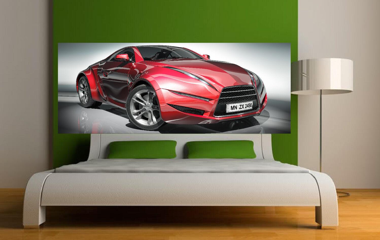 Aufkleber -kopf Bett Wanddekor Auto Ref Ref Ref 3649 (5 Größe) 111123