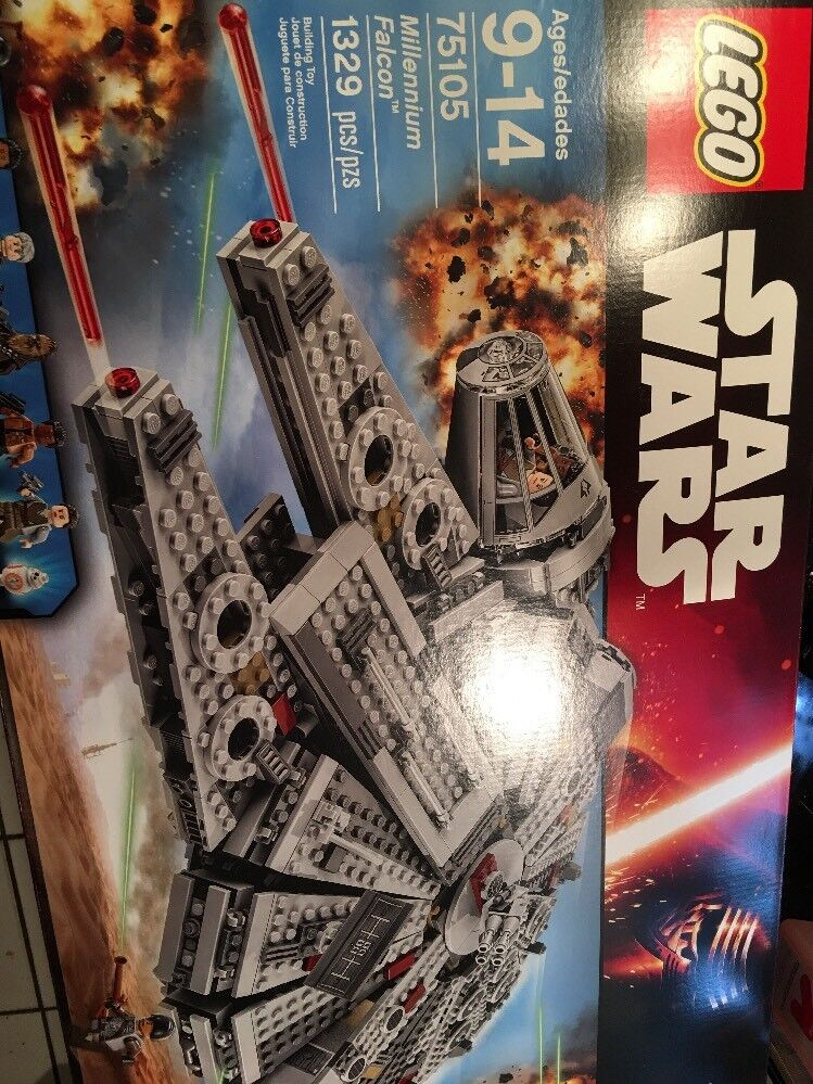 LEGO Star Wars Millennium Falcon 75105 BRAND NEW Factory Sealed Box Authentic