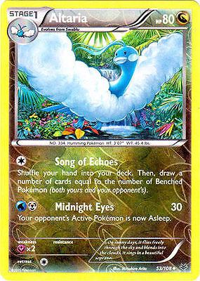Holo Rare Card 72//108 4x Pokemon Roaring Skies Swellow