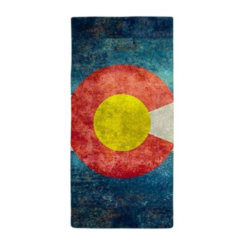 1966702110 CafePress Colorado State Flag Retro Style Beach Towel