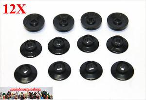 12x Lego ® 50254 Petites Roues Ferroviaires Log Train Train Wheel Noir Black-afficher Le Titre D'origine Ilfp6b23-07175934-753846373