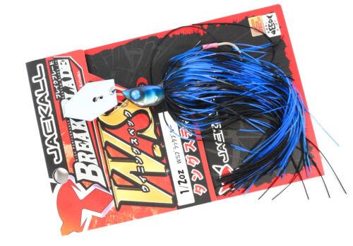 1773 Jackall Break B WS Jig 1//2 oz Versenkung Köder Black Blue