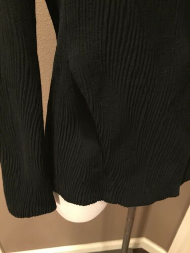 Eileen Stretch Snap Fisher Jacket Sort Nice Stof Front m P Italiensk Textured BXxBqwpr