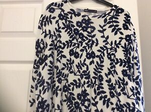 Marks-amp-Spencers-Ladies-Jumper-Size-22-Cream-Mix-BNWTS