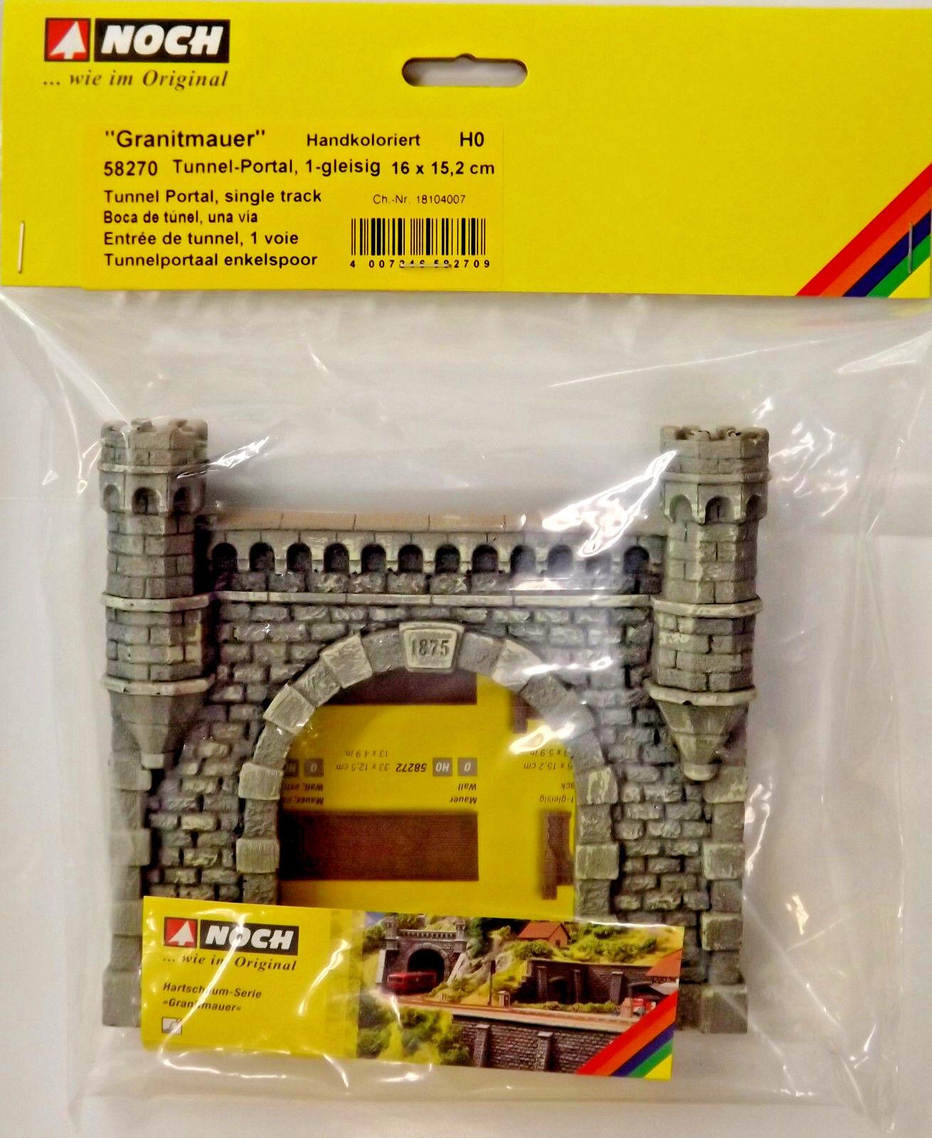 Noch 58270 - Escala H0 - Portal Del Túnel    1-gleisig