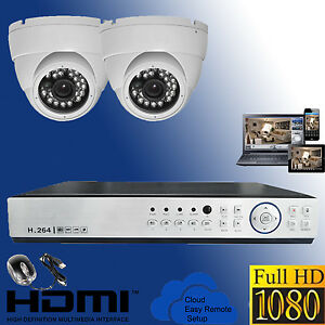 4-CHANNEL-DVR-AHD-2X-FULL-HD-DOME-CCTV-SECURITY1080P-2MP-SURVEILLANCE-SYSTEM-KIT