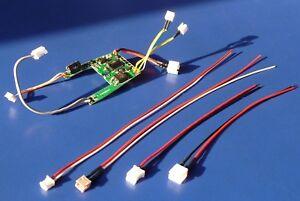 KABEL-4er-SET-mit-Steckverbinder-fuer-Carerra-124-amp-132-Digitaldecoder-26733