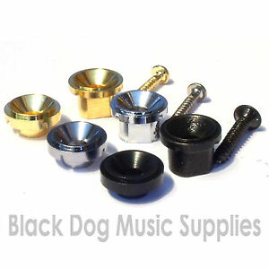 electric guitar string tree retainer in chrome black or gold or 7mm high ebay. Black Bedroom Furniture Sets. Home Design Ideas