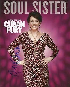 Olivia-Colman-Signed-Cuban-Fury-10x8-Photo-AFTAL