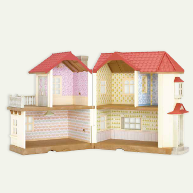 Sylvanian Families Wallpaper For Large House Colorful Pattern Calico Critters