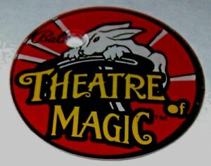 Theatre-Of-Magic-Pinball-Machine-Original-NOS-Promo-Keychain-Bunny-Rabbit-Bally