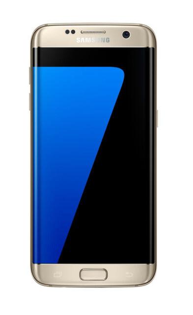 Samsung Galaxy S7 Edge Sm G935 32gb Gold Platinum Unlocked Smartphone For Sale Online Ebay