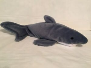 82d31df8aa8 TY Beanie Baby - CRUNCH the Shark - with Tags - RETIRED 8421041305 ...