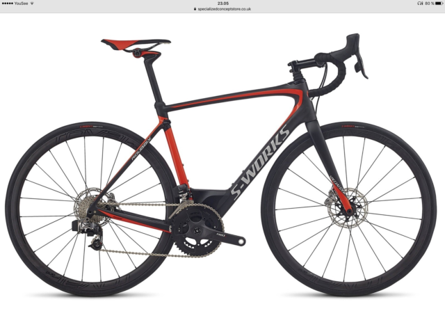 Herreracer, Specialized S-Works Roubaix Carbon/Rocket Red,…