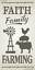 Joanie Stencil Faith Family Windmill Country Cow Pig Chicken Prim Farmhouse Sign
