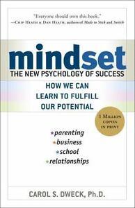 Dr carol dwecks book mindset