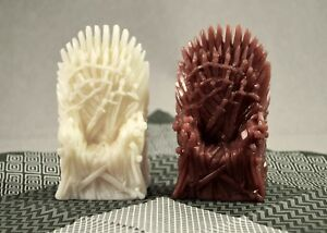 IRON THRONE SILICONE SOAP MOLD BAR MOULD clay wax resin