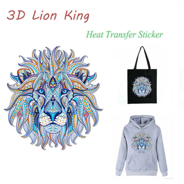 DIY Printing Clothes Patch Heat Transfer Stickers Applique Iron On Patches