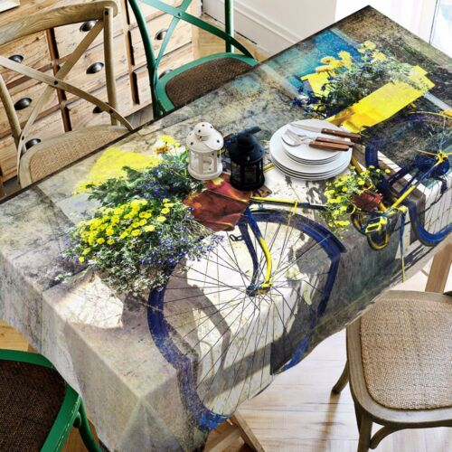 3D Bicycle 759 Tablecloth Table Cover Cloth Birthday Party Event AJ WALLPAPER AU