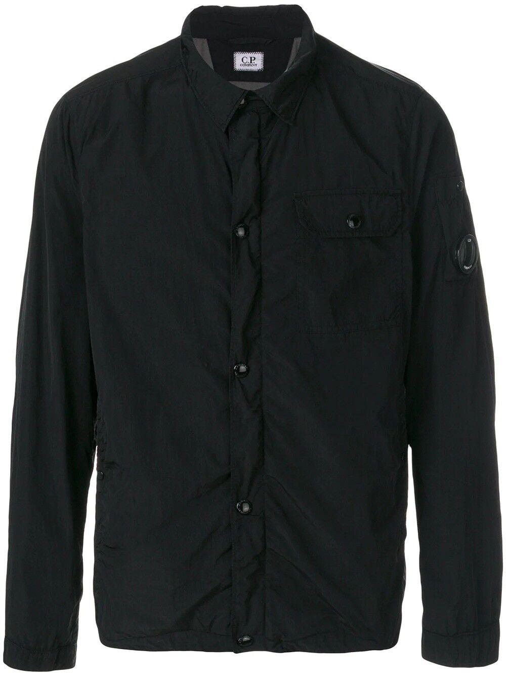 Genuine CP Company da uomo indumento tinto tinto tinto Overshirt Nero Taglia L b8aabd