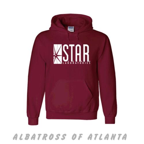 Tutte le Taglie Maglione e felpa con cappuccio I laboratori Star T Shirt Top il flash laboratori S.T.A.R