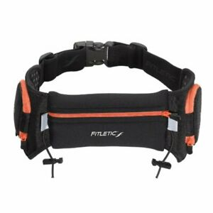 Fitletic-Quench-Retractable-Hydration-Belt-Black-Orange-Large-X-Large