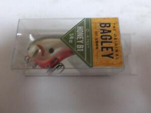 Older Bagley Balsa B2,BB2,#AG9,Apple Green Chartreuse,Square Bill