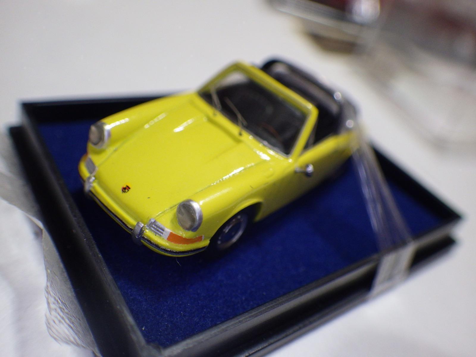 High Tech Modell (Germany) Yellow Porsche 911 Targa 1968-70 Diecast 1 87 NIB