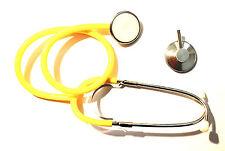 Stethoskop Stetoskop Flachkopf Einzelkopf, gelb, NEU