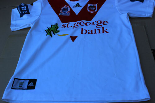 1 X ST GEORGE ILLAWARRA DRAGONS JERSEY SIZE M SIGHED