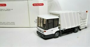 Wiking-1-87-Mercedes-Benz-Econic-Pressmuellwagen-OVP-638-01-Faun-Variopress