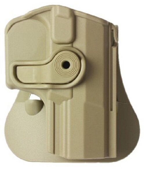 Z1420 IMI Defense Tan Right Hand Roto Holster for Walther M2, Navy SD, P99Q