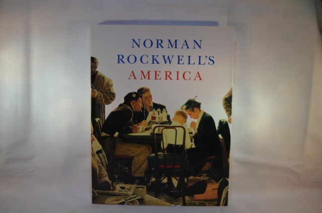 Norman Rockwell's America by Abrams / C Finch - Hardback 2008 First Printing (Z)