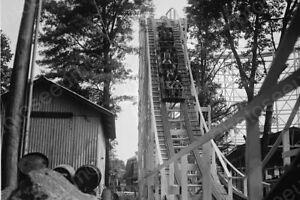 Glen Echo Roller Coaster Ride 1920s Professional Photo Lab Reprint