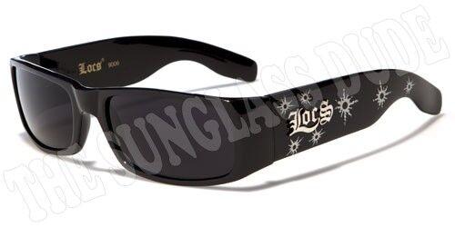 Sunglasses New Sport Designer Shades Wraps Locs Men Women Black Silver LC114A