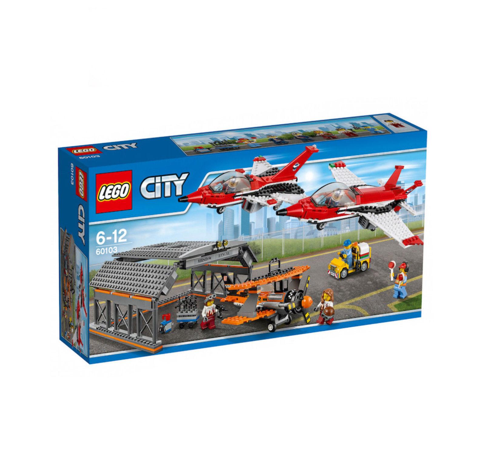 LEGO 60103 City Airport Air Show Construction Set - Multi-Coloured